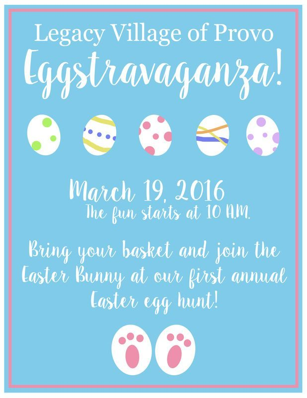 Legacy House Spanish Fork Hop Over To Our Easter Egg Hunt